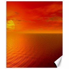 Sunset Canvas 20  x 24  (Unframed)