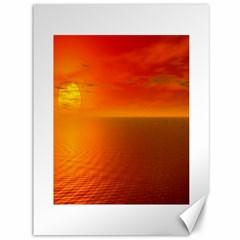 Sunset Canvas 36  X 48  (unframed)