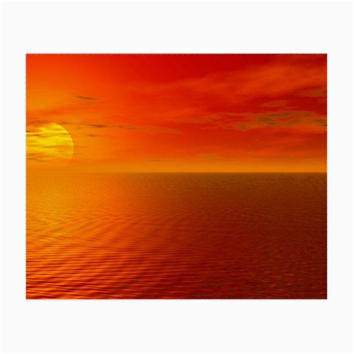 Sunset Glasses Cloth (Small, Two Sided)