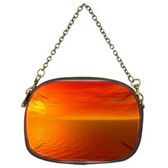 Sunset Chain Purse (one Side)
