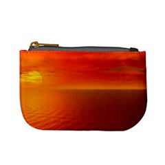 Sunset Coin Change Purse