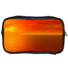 Sunset Travel Toiletry Bag (one Side)