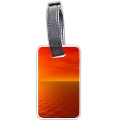 Sunset Luggage Tag (two Sides)