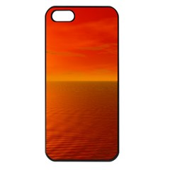 Sunset Apple Iphone 5 Seamless Case (black)