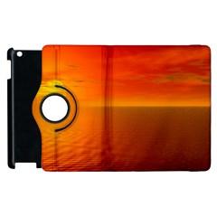 Sunset Apple iPad 3/4 Flip 360 Case