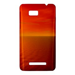 Sunset HTC One SU T528W Hardshell Case