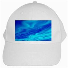 Blue White Baseball Cap