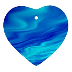 Blue Heart Ornament