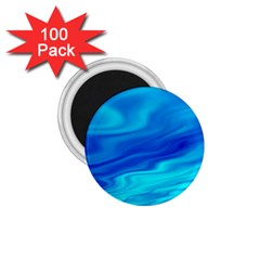 Blue 1.75  Button Magnet (100 pack)