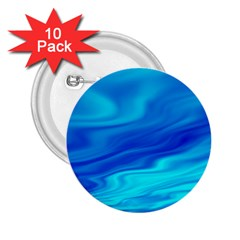 Blue 2.25  Button (10 pack)