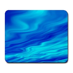 Blue Large Mouse Pad (Rectangle)