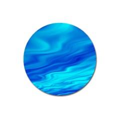 Blue Magnet 3  (round)