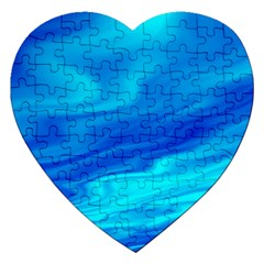 Blue Jigsaw Puzzle (heart)