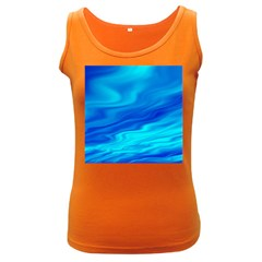 Blue Womens  Tank Top (Dark Colored)