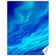 Blue Canvas 12  X 16  (unframed)