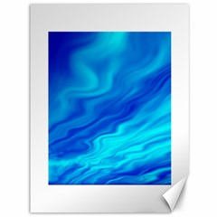 Blue Canvas 36  X 48  (unframed)