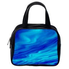 Blue Classic Handbag (one Side)