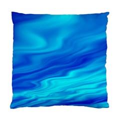 Blue Cushion Case (single Sided)
