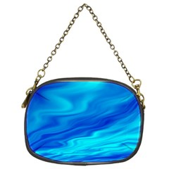 Blue Chain Purse (Two Sided)