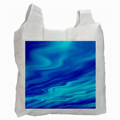 Blue Recycle Bag (Two Sides)