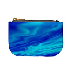 Blue Coin Change Purse
