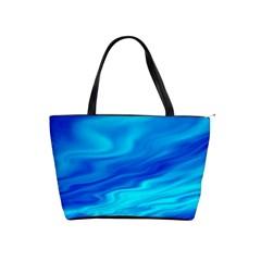 Blue Large Shoulder Bag