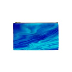 Blue Cosmetic Bag (Small)