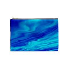 Blue Cosmetic Bag (Medium)