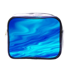 Blue Mini Travel Toiletry Bag (One Side)