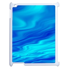 Blue Apple iPad 2 Case (White)