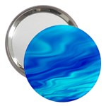 Blue 3  Handbag Mirror Front