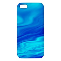 Blue Iphone 5s Premium Hardshell Case