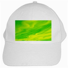 Green White Baseball Cap