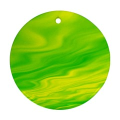 Green Round Ornament