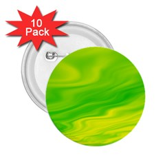Green 2.25  Button (10 pack)