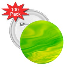 Green 2.25  Button (100 pack)