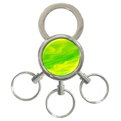 Green 3-Ring Key Chain