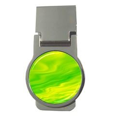 Green Money Clip (Round)
