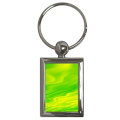 Green Key Chain (Rectangle)
