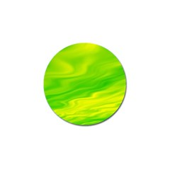 Green Golf Ball Marker 10 Pack