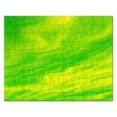 Green Jigsaw Puzzle (Rectangle)