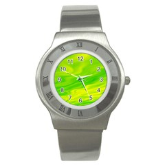 Green Stainless Steel Watch (Unisex)