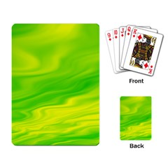 Green Playing Cards Single Design