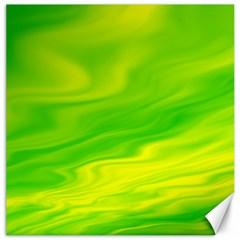 Green Canvas 20  X 20  (unframed)
