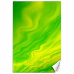 Green Canvas 20  x 30  (Unframed)