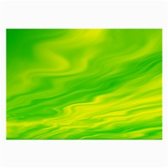 Green Glasses Cloth (large, Two Sided)