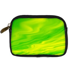 Green Digital Camera Leather Case