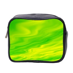 Green Mini Travel Toiletry Bag (Two Sides)
