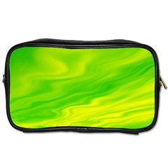 Green Travel Toiletry Bag (One Side)