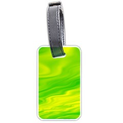 Green Luggage Tag (One Side)